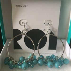 Jewelry - 🛍 Romolo Beaded Hoops